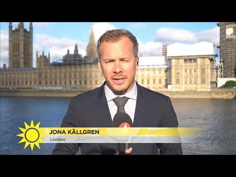 """Direkt från Storbritannien – """"Stora frågan – får Therese May sitta kvar?"""" - Nyhetsmorgon (TV4)"""