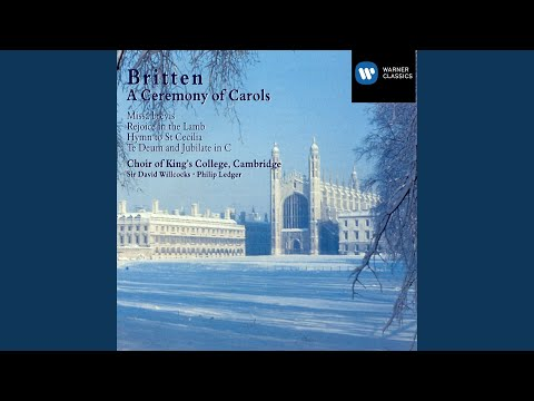 A Ceremony of Carols, Op.28 (1987 Remastered Version) : As dew in Aprille mp3