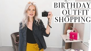COME SHOPPING WITH ME FOR MY BIRTHDAY PARTY OUTFIT   V 107