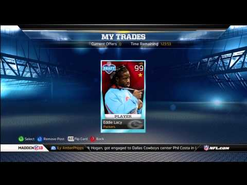 Madden Ultimate Team 13 - Episode 161 - Future Star Eddy Lacy And Flashback Giveaway