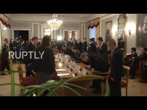Latvia: Chinese premier meets with Latvian president ahead of China-CEE summit