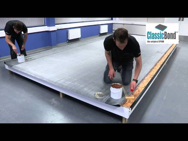 Full Installation of ClassicBond ® EPDM roof with Sure Edge ® Trims