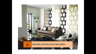 Modern Curtain Ideas For Your Living Room
