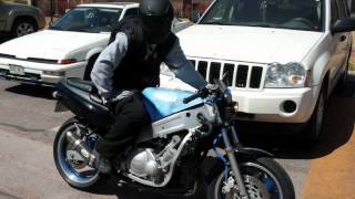 1991 Yamaha FZR 600 Rebuild