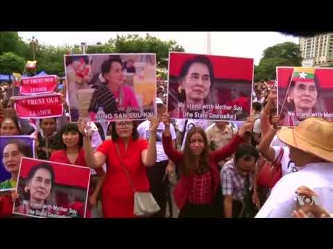 Aung San Suu Kyi Draws Mixed Reviews for Speech on Rohingya Crisis