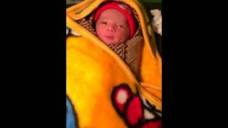 Baby baru lahir nangis lucu
