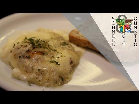Schnell, Gut & Günstig Kochen: Eier in Sahne gebacken: Frühstück / Abendessen
