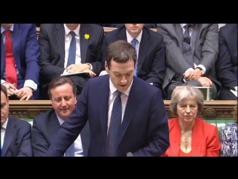 Budget Statement 2016: 16 March