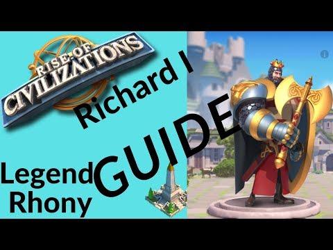 commander spotlight Richard I - tip's and advice's - Rise of kingdoms