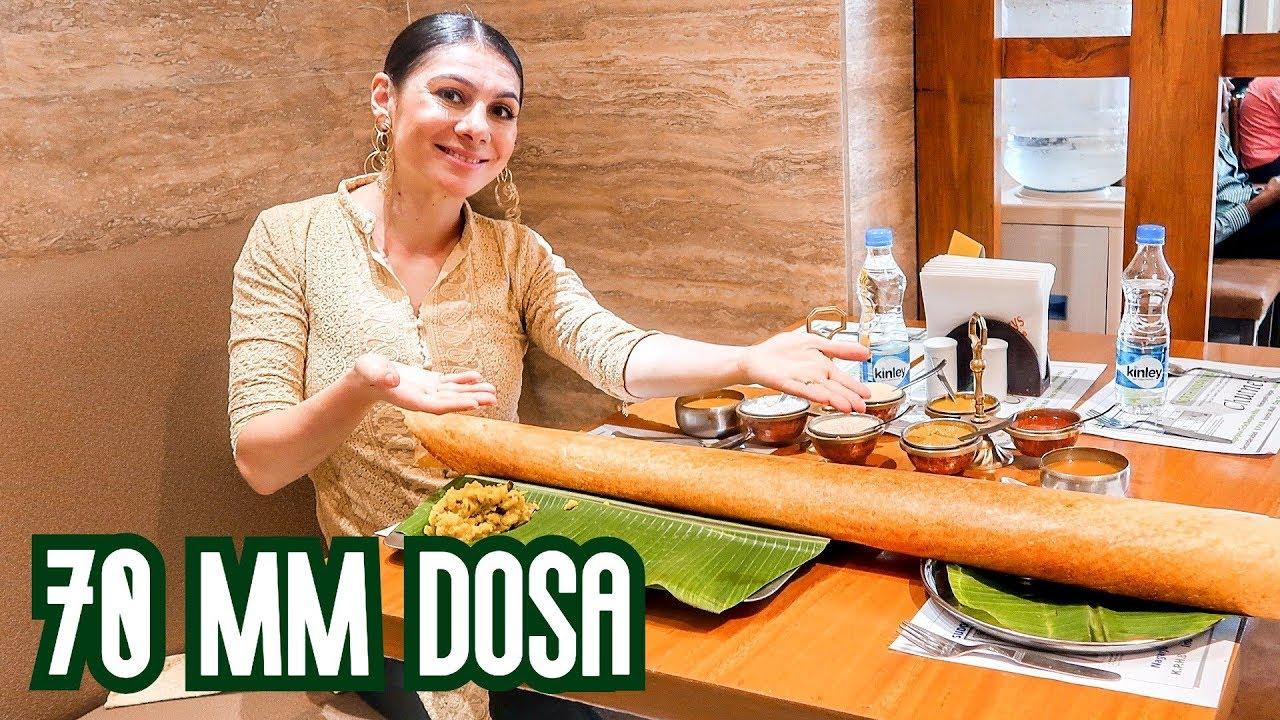 BEST INDIAN FOOD: HYDERABAD CHUTNEYS DOSA  | TRAVEL VLOG IV