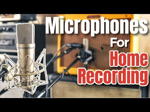 Beginners Guide To Recording At Home | Microphones 101