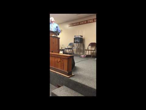 Bobby Thomas Preaching