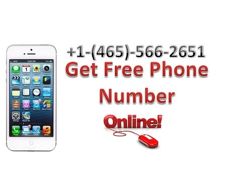 Get a Phone Number Online for free - Use it to verify Apps & Accounts