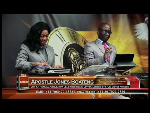 Apostle Dr. Jones Dada Boateng - The Seed Of Affliction