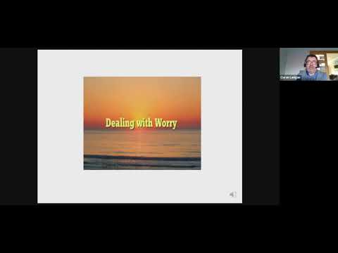 Frontline Supports: Presentation on coping with Worry