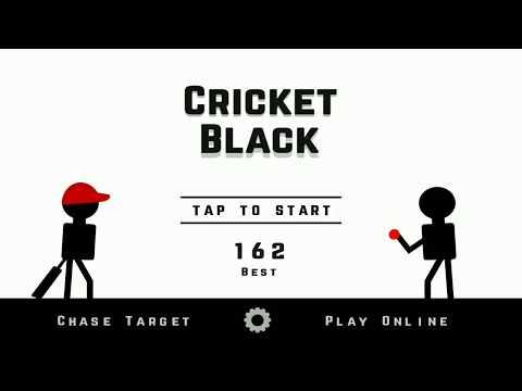 Cricket Black Gameplay