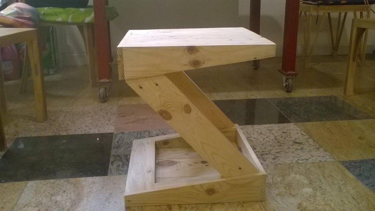 Silla z hecha con madera de palets youtube for Sillas hechas de palets