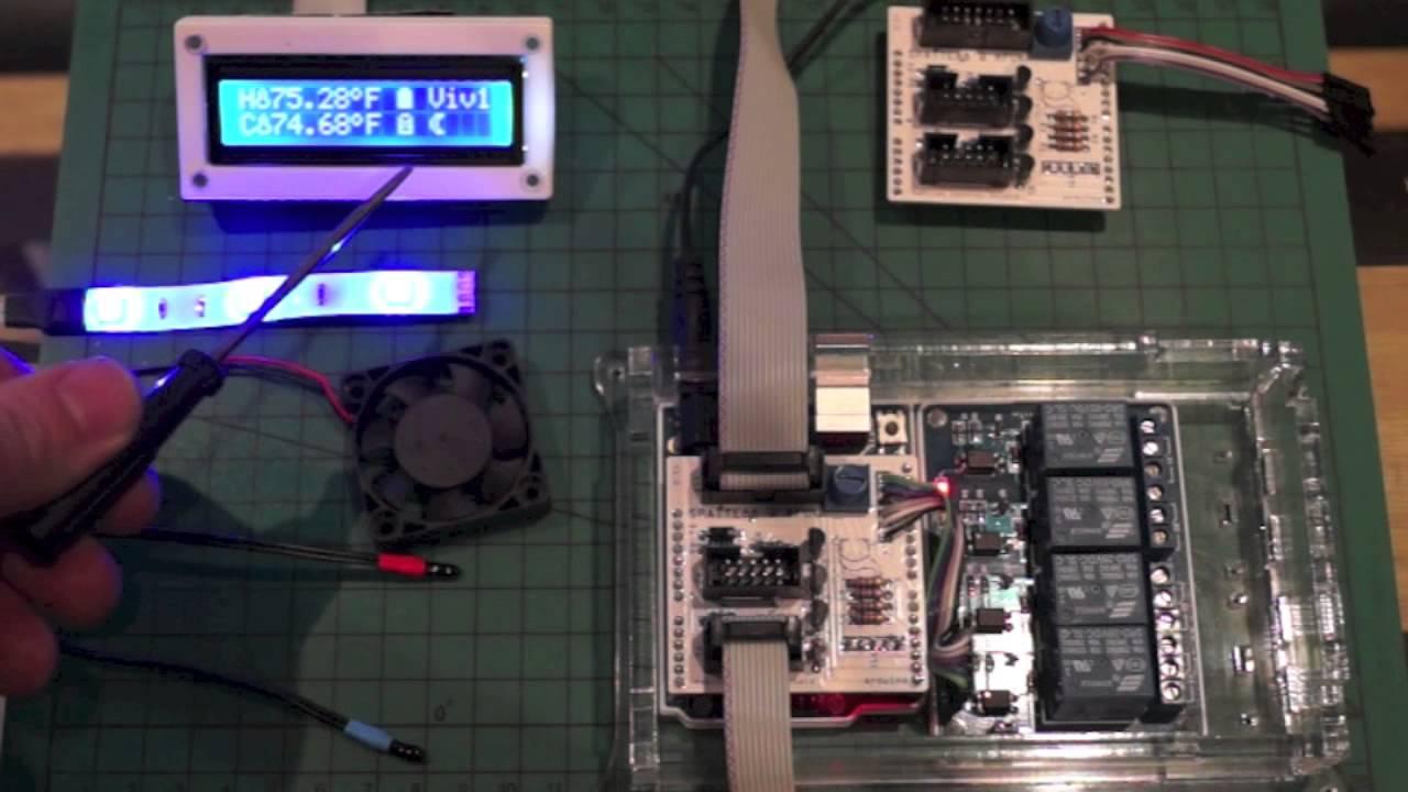2  Arduino Reptile Habitat Control - Basic Introduction
