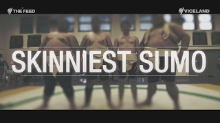 How does a skinny, 75kg Aussie guy become a sumo? The Feed's Will R...