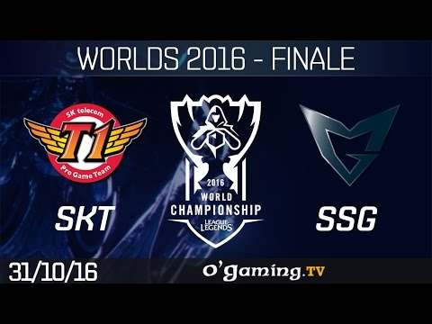 SKT vs SSG - World Championship 2016 - Playoffs - Finale