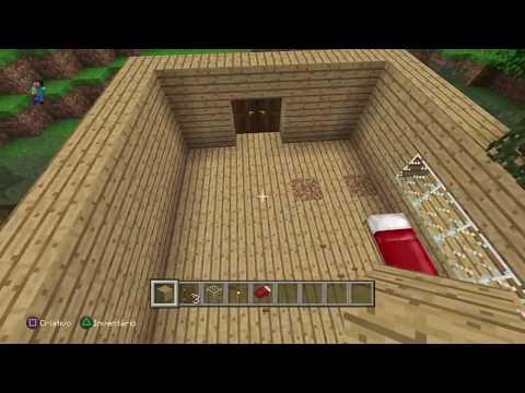 Minecraft: PS4 criativo #2 Remodelação da casa