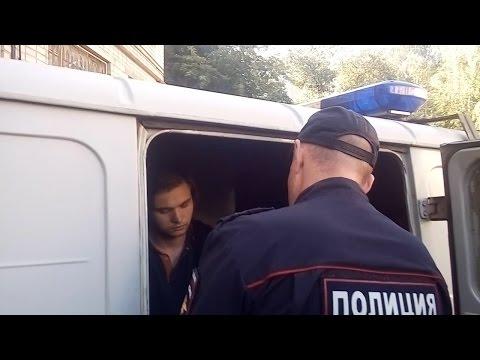 Арест по делу покемонов.  Соколовского увозят из суда под стражей