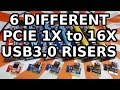 6 Best PCI-E 1X to 16X USB3.0 GPU Risers for Mining Rigs Ethereum ZCash Monero