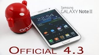 Galaxy Note 2 (N7100) - Official Android 4.3 Jellybean - How to install