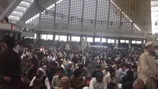 مفتي الجمهورية يلقي خطبة الجمعة في أكبر مساجد إسلام أباد
