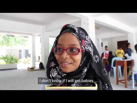 Aspirations of 10-year-old girls in Maldives