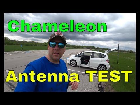 Testing Chameleon CHA MPAS Military Portable Ham Radio QRP Antenna