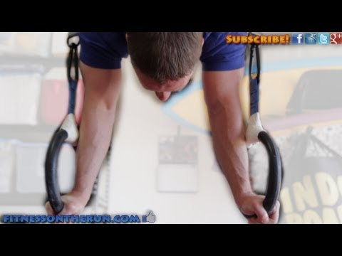How To Hold A Handstand On Gymnastics Rings