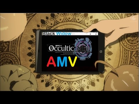 Fame On Fire -(AMV) Black Widow (Cover)Occultic Nine
