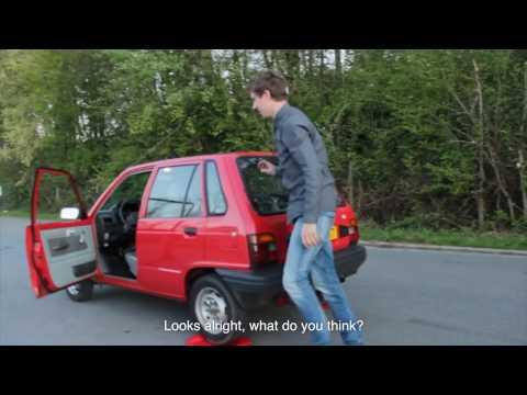 Drifting A '93 Suzuki Alto