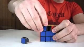 Невозможно собрать кубик рубик