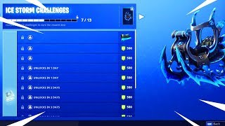 *NEW* Free Fortnite Rewards! How To Complete Fortnite Ice Storm Challenges