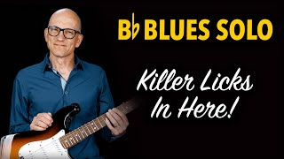 B flat Killer Blues Solo - Bb01
