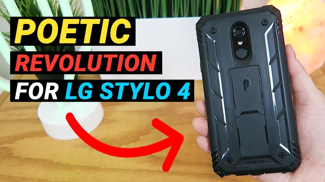 low priced aa0d5 e3084 Poetic Revolution for LG Stylo 4 - Review!