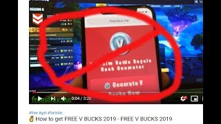 How To Get Free V Bucks Without Human Verification 2019