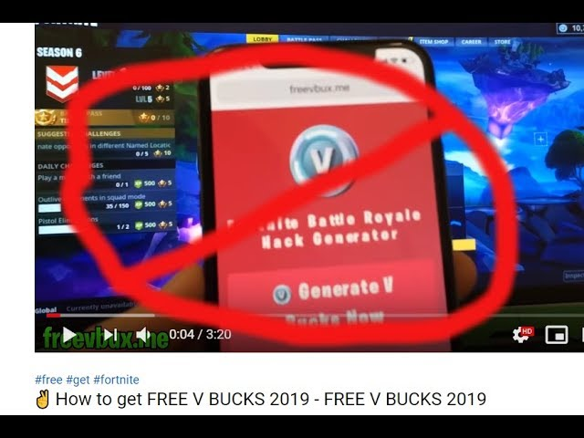 How To Get Free V Bucks No Human Verification Can T Get Banned