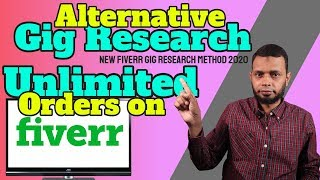 Make money online - get unlimited orders on fiverr new research method