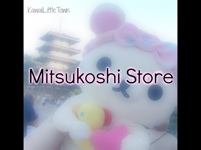 Follow me around Mitsukoshi Kawaii Store in Japan Disney Epcot | 2015