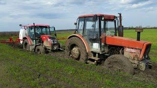 Traktori u blatu