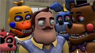 - SFM Neighbor FNAF Neighbor Hunts The New Age Rockstar Animatronics
