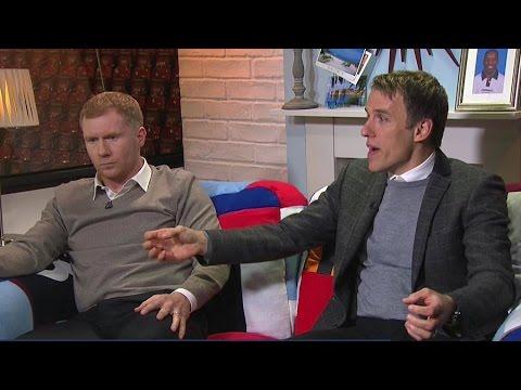 Scholes, Phil Neville & Savage Have Fantastic Man Utd Debate - LVG Presser, Rooney's Best Position