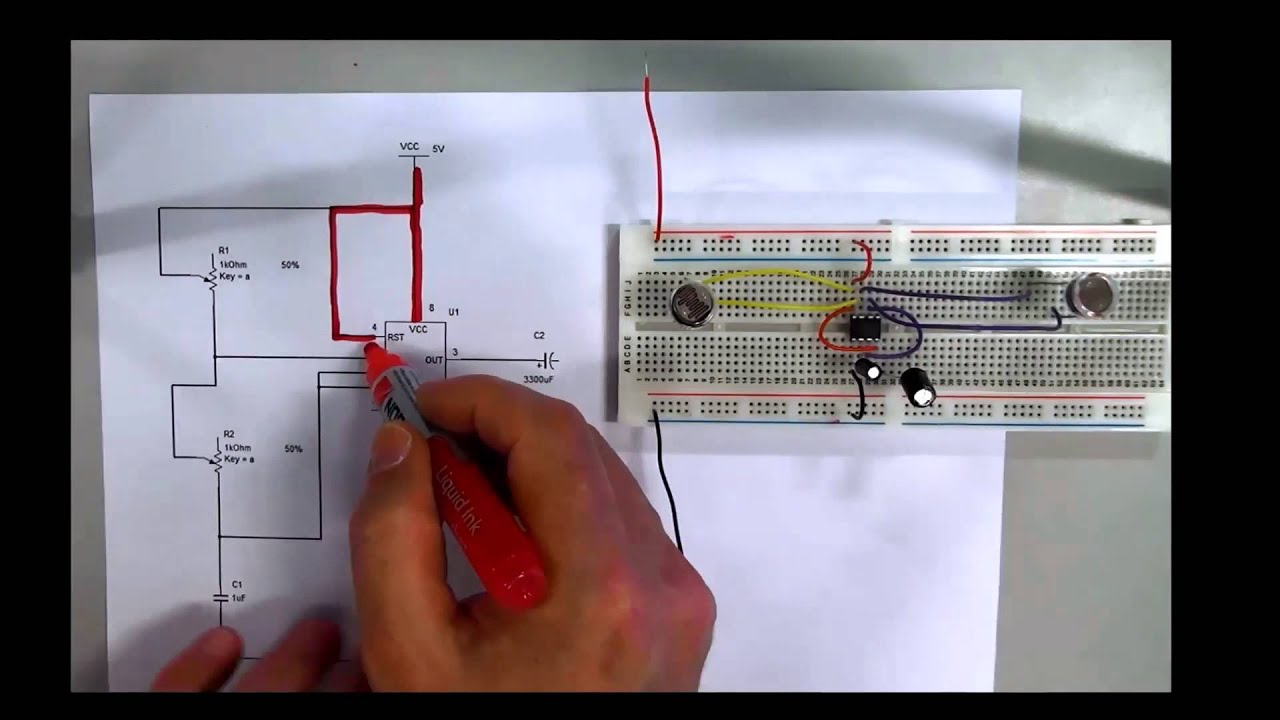 How to read an Electronic Schematic\