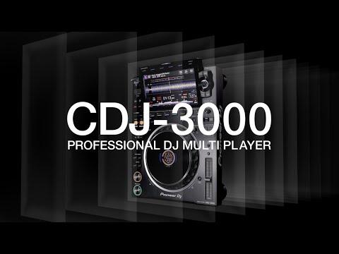 A New Dimension – Pioneer DJ Official Introduction: CDJ-3000 Professional DJ multi player