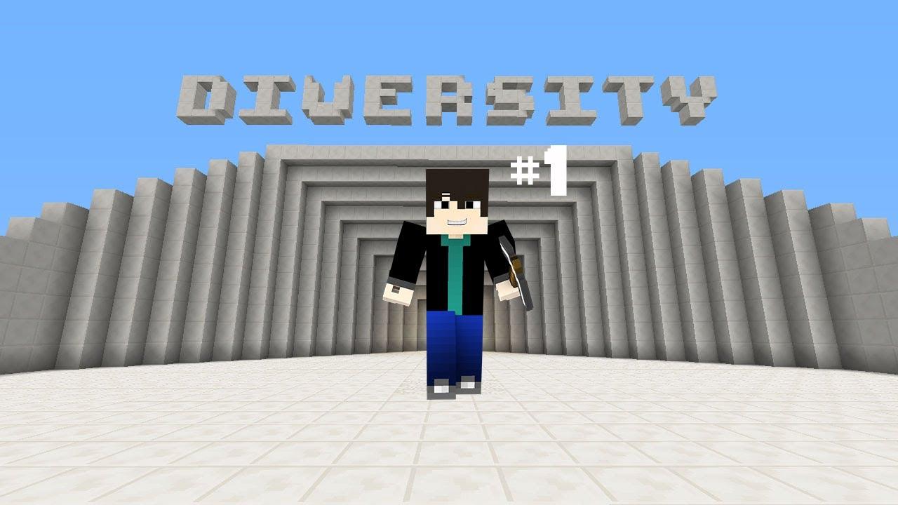 Карта Diversity для Minecraft 1.7.4/1.6.4/1.6.2 » Скачать ...