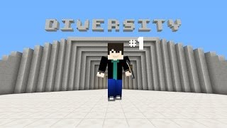 Repeat youtube video Minecraft Map - Diversity Bölüm #1 Dropper w/Yiğit