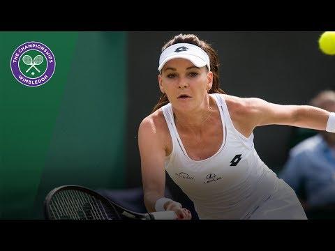 Agnieszka Radwanska v Jelena Jankovic highlights - Wimbledon 2017 first round